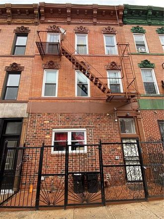 Rent this 7 bed townhouse on 49 Rockaway Avenue in New York, NY 11233
