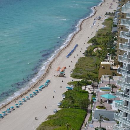 Rent this 2 bed condo on La Perla Ocean Residences in 16699 Collins Avenue, Sunny Isles Beach