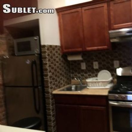 Rent this 3 bed apartment on Kumo Sushi in East 13th Street, New York
