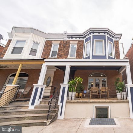 Rent this 4 bed townhouse on 5116 Webster Street in Philadelphia, PA 19143