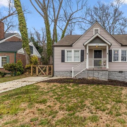 Rent this 2 bed house on 1359 Allegheny Street Southwest in Atlanta, GA 30310