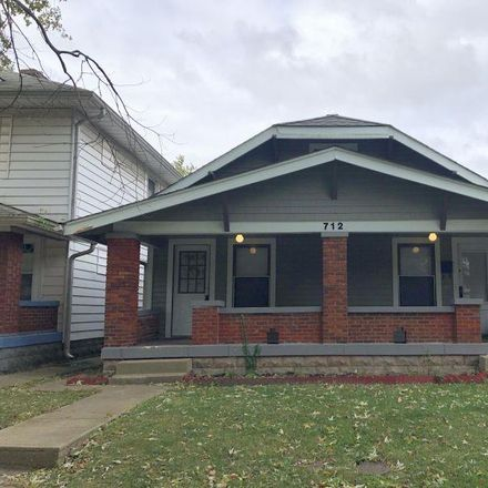 Rent this 1 bed house on 712 North Bosart Avenue in Indianapolis, IN 46201