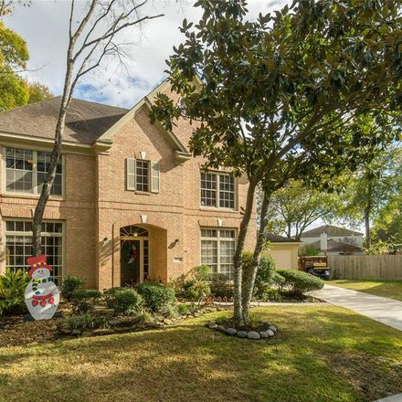 Rent this 3 bed house on 2902 Tulip River Court in Houston, TX 77345