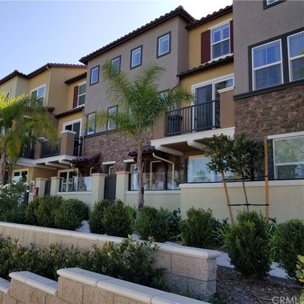 Rent this 4 bed townhouse on Sago Ct in Rancho Cucamonga, CA