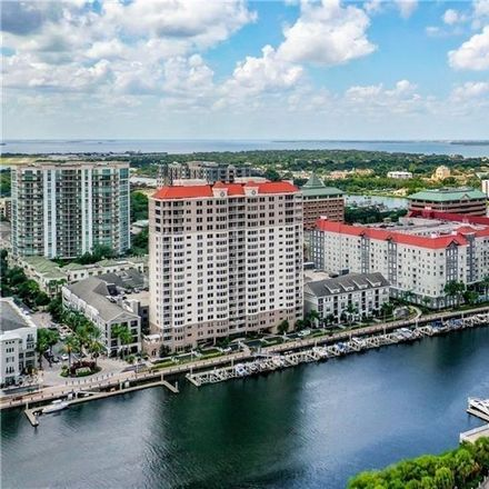Rent this 2 bed condo on 700 S Harbour Island Blvd in Tampa, FL