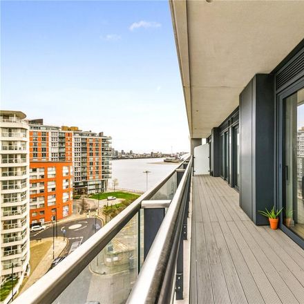 Rent this 2 bed apartment on Horizons Tower in 1 Yabsley Street, London E14 9BH