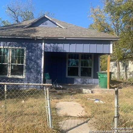 Rent this 3 bed house on 725 Westfall Avenue in San Antonio, TX 78210