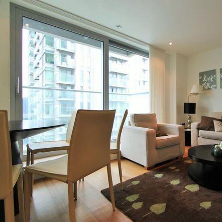 Rent this 1 bed apartment on Pan Peninsula in Pan Peninsula Square, London E14 9HA