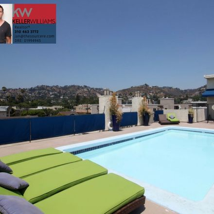 Rent this 1 bed apartment on N Sierra Bonita Ave in Los Angeles, CA