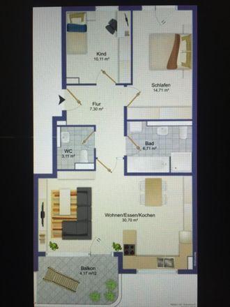 Rent this 3 bed apartment on Südliche Ingolstädter Straße 5c in 85716 Unterschleißheim, Germany