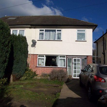 Rent this 3 bed house on Molesey Library in Abbey Walk, Molesey KT8 2JH