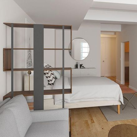Rent this 0 bed apartment on 21 West St in New York, NY 10006