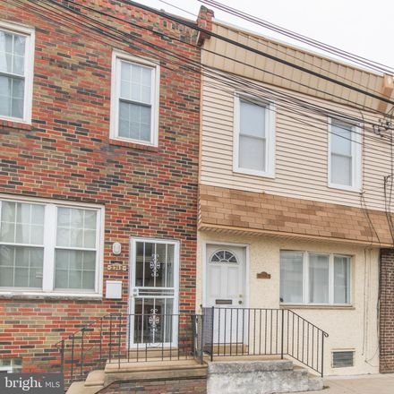 Rent this 3 bed townhouse on 2714 East Thompson Street in Philadelphia, PA 19134