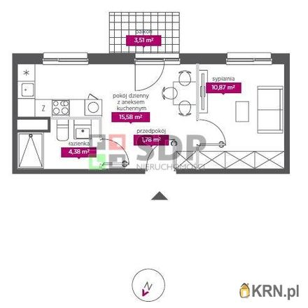 Rent this 2 bed apartment on Ento Cafe in Aleja Marszałka Józefa Piłsudskiego 3, 90-063 Łódź