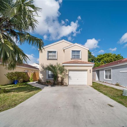 Rent this 3 bed house on 6203 Buena Vista Drive in Margate, FL 33063