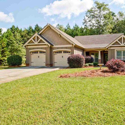 Rent this 3 bed house on 156 Deer Creek Run in Moreland, GA