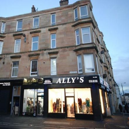 Rent this 1 bed apartment on Wok Star in 523 Cathcart Road, Glasgow G42 8SG