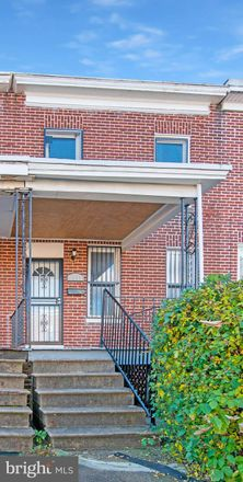 Rent this 3 bed townhouse on 3337 Elmora Avenue in Baltimore, MD 21213