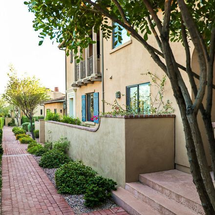 Rent this 3 bed townhouse on 18650 North Thompson Peak Parkway in Scottsdale, AZ 85255