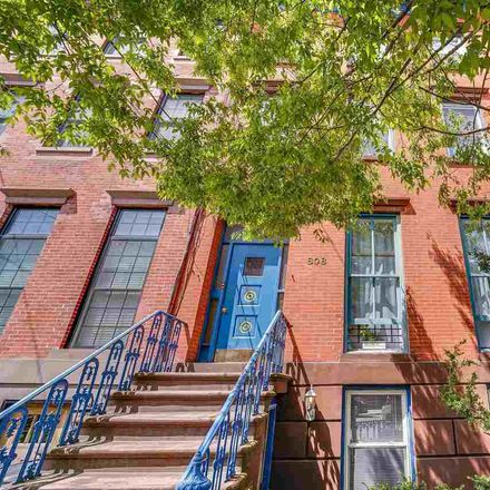 Rent this 4 bed apartment on 808 Bloomfield Street in Hoboken, NJ 07030