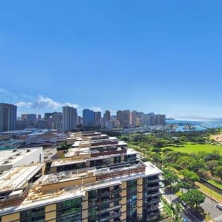 Rent this 2 bed condo on 1350 Ala Moana Boulevard in Honolulu, HI 96814