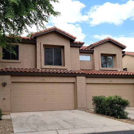 Rent this 3 bed townhouse on 1101 West Mango Drive in Gilbert, AZ 85233
