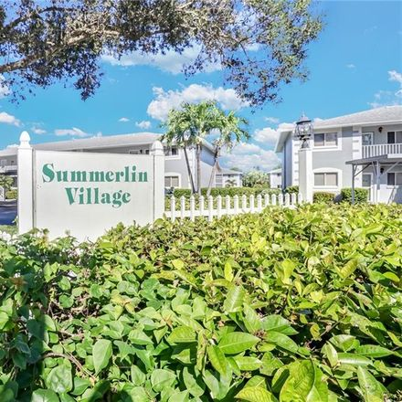 Rent this 2 bed condo on 8170 Summerlin Village Cir in Fort Myers, FL