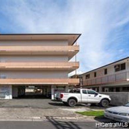Rent this 1 bed condo on 636 Nalanui Street in Honolulu, HI 96817