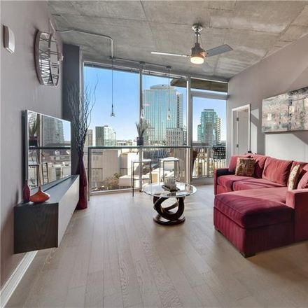 Rent this 2 bed condo on Marlow's Tavern in 950 West Peachtree Street Northwest, Atlanta