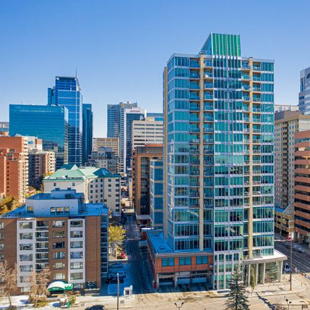 Rent this 1 bed apartment on Solaire in 888 4 Avenue SW, Calgary