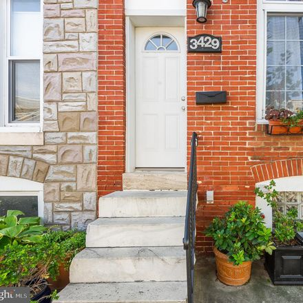 Rent this 2 bed townhouse on 3429 East Lombard Street in Baltimore, MD 21224