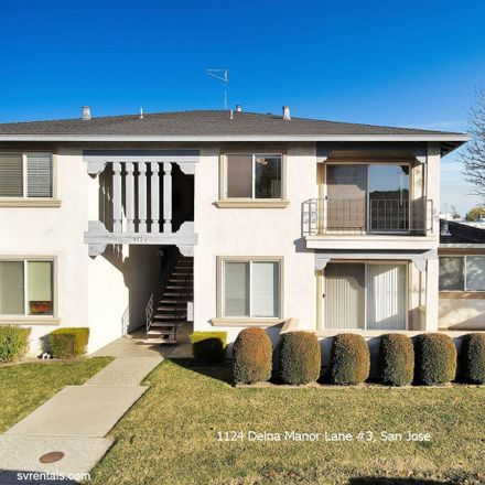 Rent this 2 bed apartment on 1124 Delna Manor Lane in San Jose, CA 95128