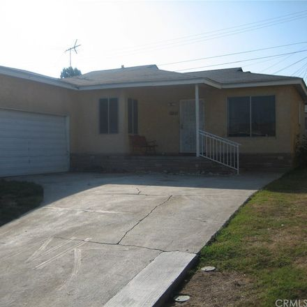 Rent this 3 bed house on 12219 Trinity Street in Willowbrook, CA 90061