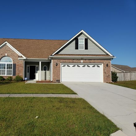 Rent this 3 bed house on 157 Moonstone Ct in Jacksonville, NC