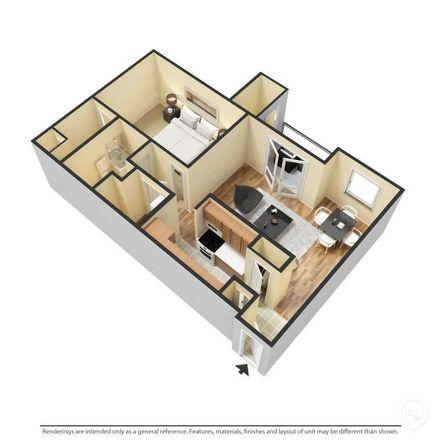 Rent this 3 bed apartment on Powells Creek Boulevard in Village Gate, VA 22026