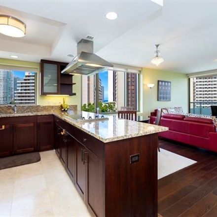 Rent this 2 bed condo on Watermark in 1551 Ala Wai Boulevard, Honolulu