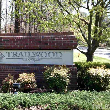 Rent this 2 bed duplex on 3050 Trailwood Pines Lane in Raleigh, NC 27603