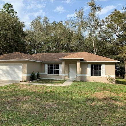 Rent this 3 bed house on 4045 East Walker Street in Inverness Highlands North, FL 34453
