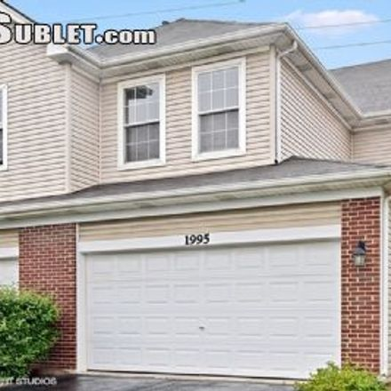Rent this 2 bed townhouse on 1993 Golden Gate Lane in Naperville, IL 60563