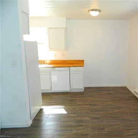 Rent this 3 bed duplex on 1217 Hoover Avenue in Chesapeake, VA 23324