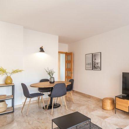 Rent this 2 bed apartment on carrer de la Indústria in 08912 Badalona, Spain