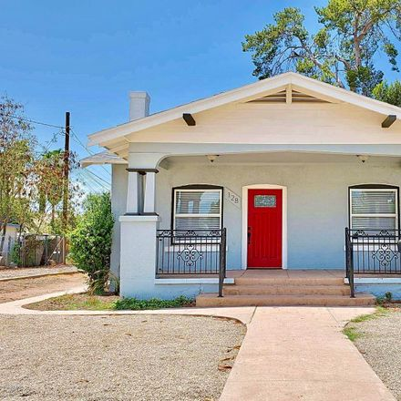 Rent this 4 bed house on 128 South Hibbert in Mesa, AZ 85210