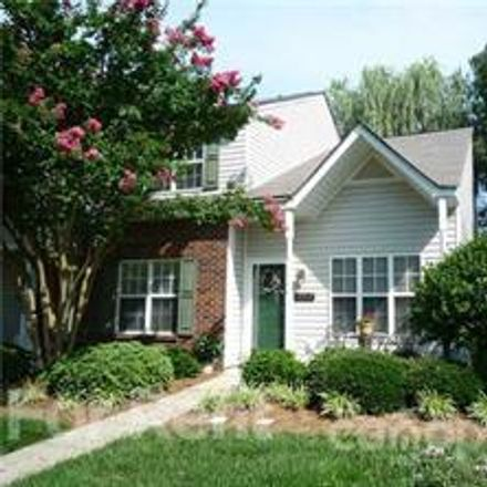 Rent this 3 bed townhouse on 12312 Bluestem Lane in Charlotte, NC 28277
