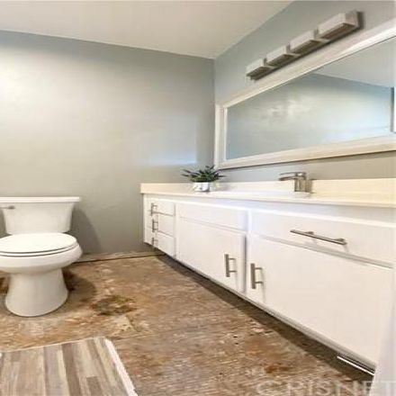 Rent this 3 bed condo on 22981 Del Valle Street in Los Angeles County, CA 91364