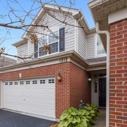 Rent this 3 bed townhouse on 1212 Betsy Ross Place in Bolingbrook, IL 60490