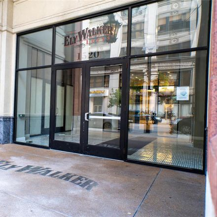 Rent this 2 bed loft on The Ely Walker Lofts in 1520 Washington Avenue, St. Louis