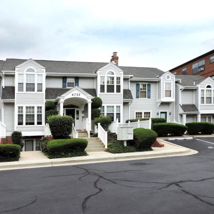 Rent this 2 bed apartment on 4733 Bradley Blvd in Chevy Chase, MD