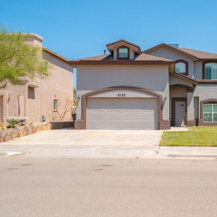 Rent this 3 bed apartment on 2124 Setting Sun Drive in El Paso, TX 79938