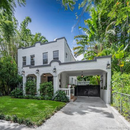 Rent this 5 bed house on 160 Northeast 43rd Street in Miami, FL 33137