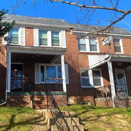 Rent this 3 bed apartment on 140 Edgewood Street in Baltimore, MD 21229